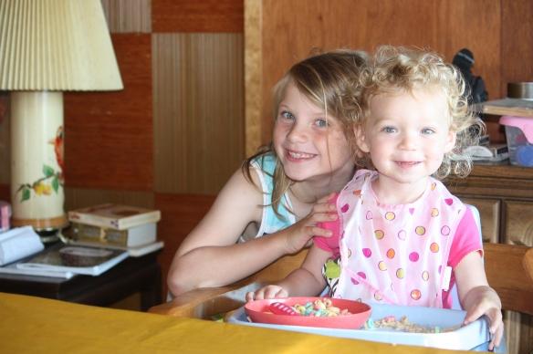 Sophia and Rachel